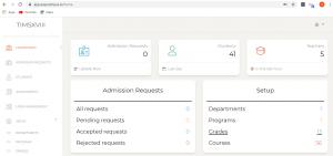 Easycampus.io -Dashboard